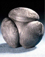 Carved stone ball Aberdeenshire 3000BC
