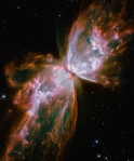 Butterfly nebula M2-9 in constellation Scorpius