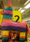 Piñata in supermarkets