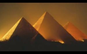 The Pyramid Parallax: Light, Electricity & Music of the