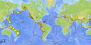 USGS 'realtime' earthquakes within last five days