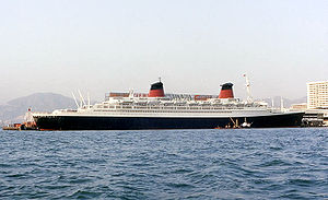 SS France, 66,000-tons, sold 1974 became SS Norway, scrapped 2006-8