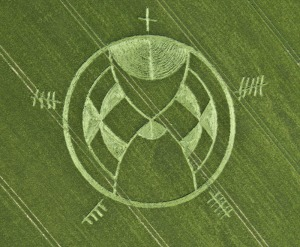 "Silbury Hill ""time-attractor"", or Eschaton: is time running out? crop circle June 25th, 2013"