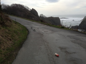 Teetering off the continental tectonic plate: coastline driving along Humboldt's Scenic Drive is a constant surprise