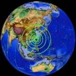 6.6mag. Taiwan S.Japan location 24º129'N 122º335E   01a.m. UTC April 20. 2015